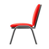 Single Red Office Chair Royalty Free Stock Photos