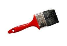 Single red paintbrush Royalty Free Stock Photo