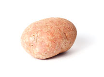 Single red potato Stock Photography