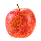 Single a red-yellow apple stock photos