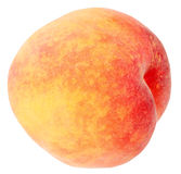 Single a red-yellow peach Royalty Free Stock Photos