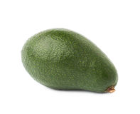Single ripe avocado fruit isolated Royalty Free Stock Images
