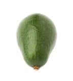 Single ripe avocado fruit isolated Stock Photo