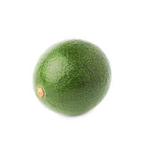 Single ripe avocado fruit isolated Royalty Free Stock Photo