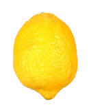 Single ripe lemon Royalty Free Stock Photography