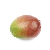 Single ripe mango fruit isolated Stock Photography