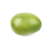 Single ripe mango fruit isolated Stock Photo