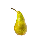 Single ripe pear Royalty Free Stock Photos