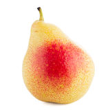 Single ripe pear Stock Photography