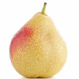 Single ripe pear Stock Images