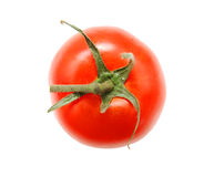 Single ripe tomato Royalty Free Stock Image