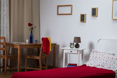 Single room in the house Royalty Free Stock Image