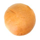 Single round bread Stock Photography