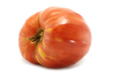 Single round tomato Royalty Free Stock Photos