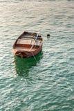 Single rowing boat Stock Image