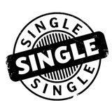 Single rubber stamp Stock Photo