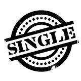 Single rubber stamp Royalty Free Stock Photography