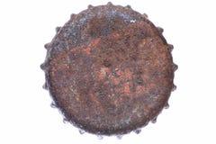 Single rusty bottle cap Stock Image