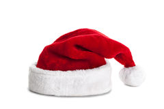 Single Santa Claus red hat Royalty Free Stock Images