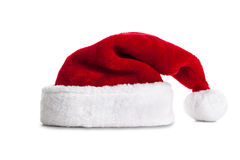 Single Santa Claus red hat Stock Photography