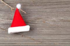 Single Santa Claus red hat Stock Photos