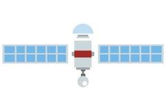Single satelite icon Royalty Free Stock Images