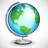 Single school globe Royalty Free Stock Photography