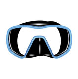 Single scuba diving mask Royalty Free Stock Photography