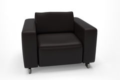 Single seat sofa Stock Photography