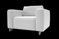 Single seat sofa Stock Images