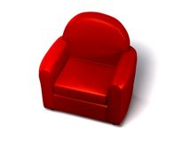 Single seat sofa Royalty Free Stock Image