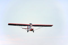 Single seater plane Stock Images