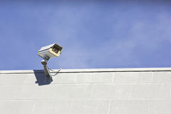 Single Security Camera Stock Images