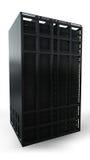Single server rack Royalty Free Stock Image