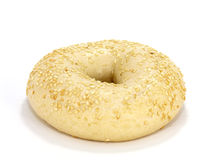 Sesame seed bagel Royalty Free Stock Photos