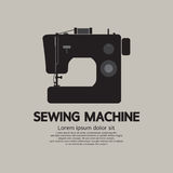Single Sewing Machine Black Graphic Stock Photography