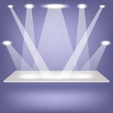 Single Shelf Royalty Free Stock Image