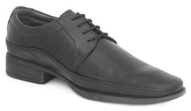 Single shoe for gentleman Stock Photos