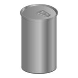 Single Silver Can Stock Images