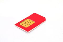 Single sim-card Stock Photography