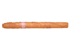 Single skinny cigar Stock Photo