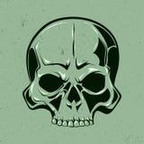 Single skull art Royalty Free Stock Photos