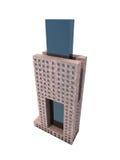 Single skyscraper Stock Photo