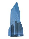 Single skyscraper Stock Images