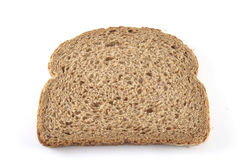 Single slice bread Royalty Free Stock Image