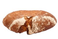 Single slice of bread Royalty Free Stock Photography