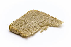 Single slice of bread Royalty Free Stock Images