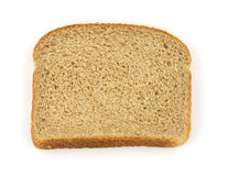 Single slice double fiber bread Royalty Free Stock Image
