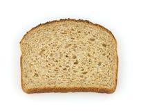 Single slice of healthy whole grain bread Royalty Free Stock Photo