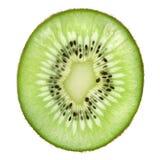 Single slice of kiwi fruit Royalty Free Stock Images